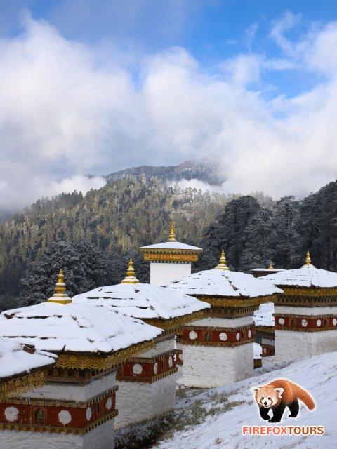 Snow in Dochu-la