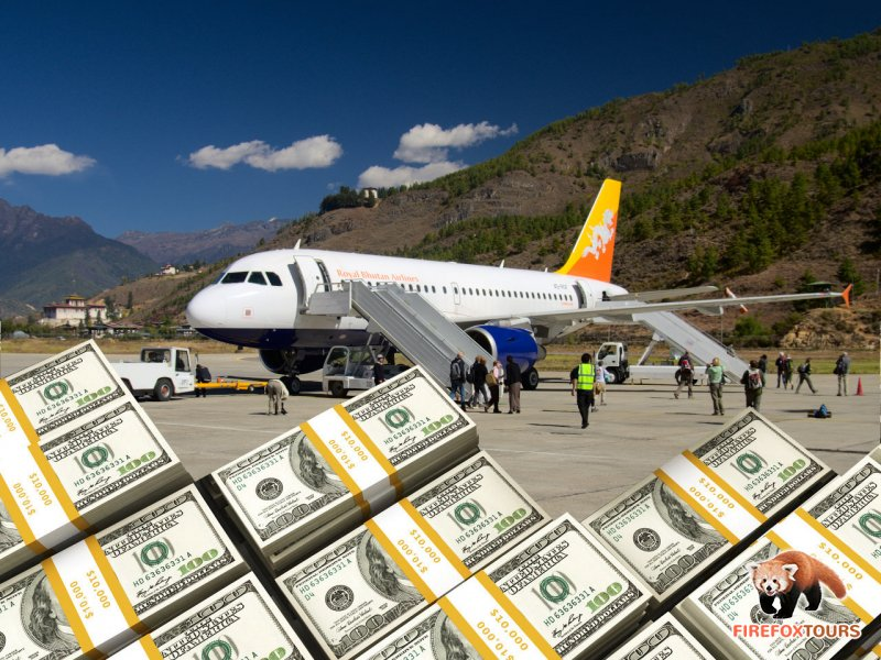 Refund for your Bhutan tour