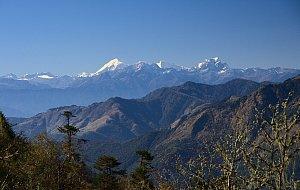 Jomolhari as seen from Lawa-la pass