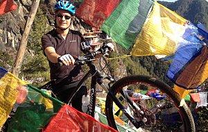 Biking to Tiger's Nest
