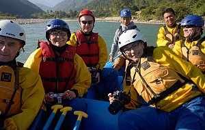 Augustyn group rafting!