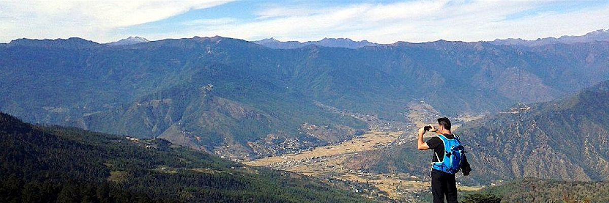 View of Paro valley