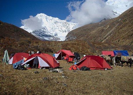 Camping in Lingzhi