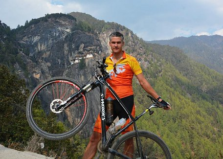 Cycling to Tiger's Nest
